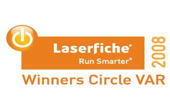 Laserfiche Winner Circle 2008