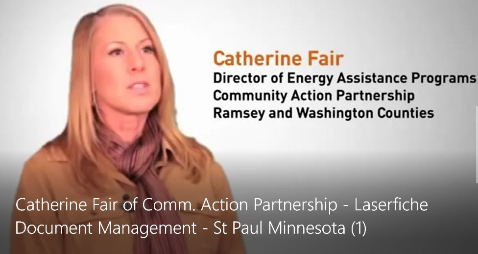 Catherine Fair of CAP Ramsey and Washington Counties
