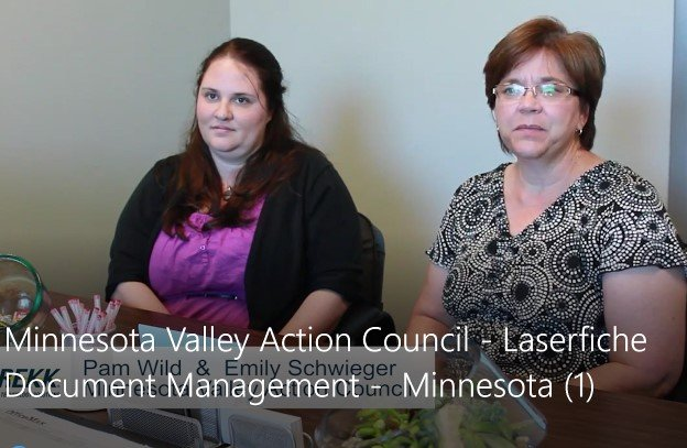 Pam Wild and Emily Schwieger of Minnesota Valley CAP Agency