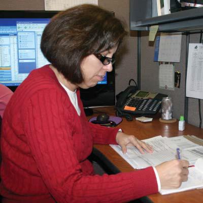 Joy tells about using Laserfiche in CAP agency