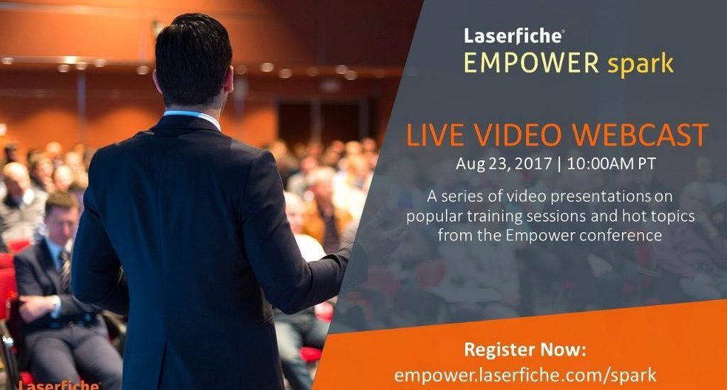 Laserfiche empower spark training