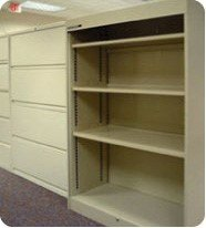 Laserfiche use results in empty filing cabinents